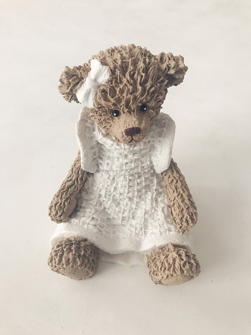 Ursa branca resina