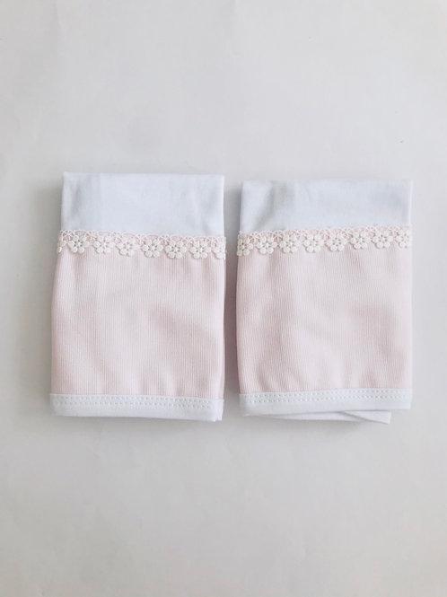 Kit fralda de boca rosa guipir