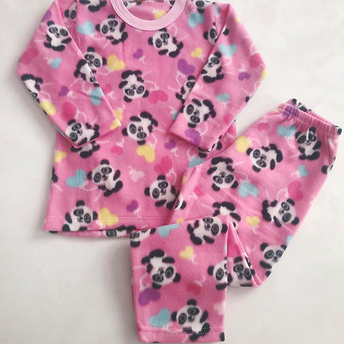 Pijama pink soft panda