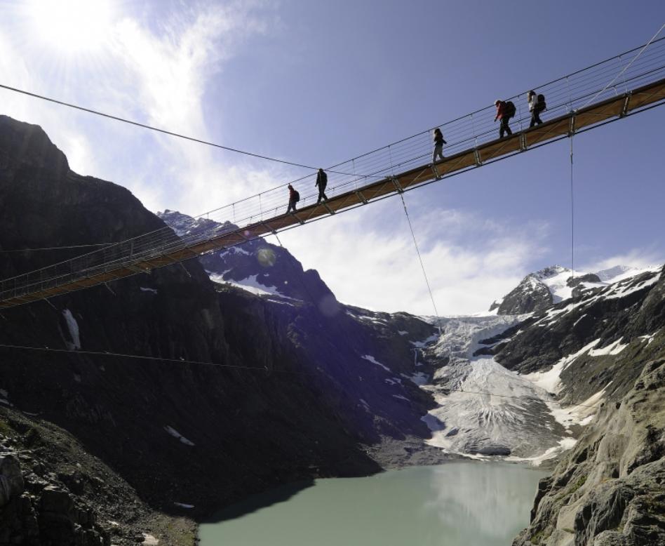 Grimselwelt längste Triftbrücke Europas