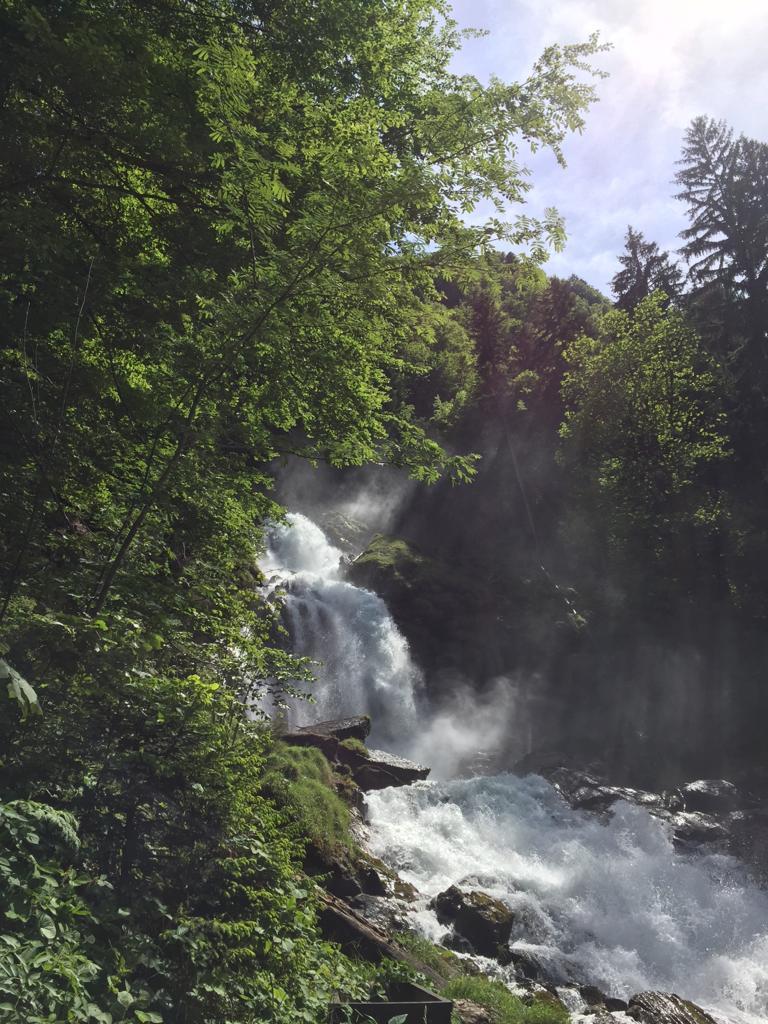 Wasserfälle Giessbach