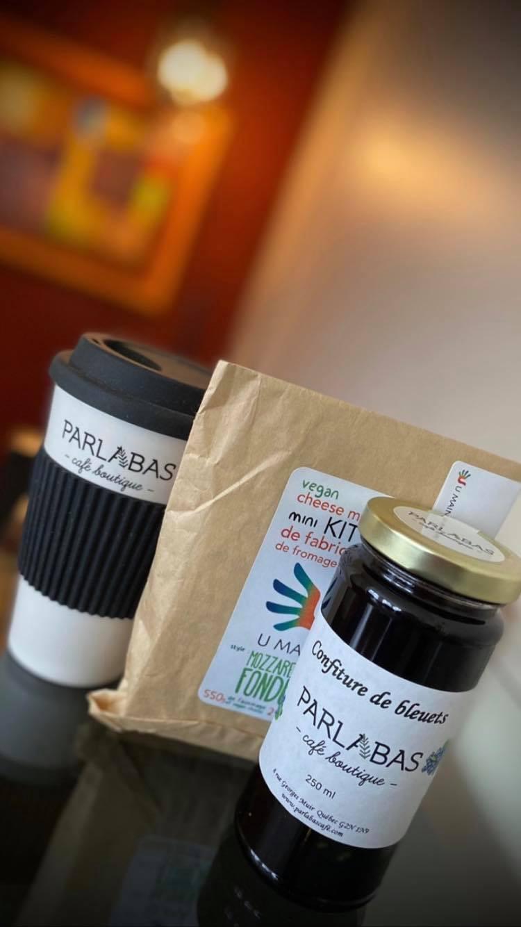 Produits du Parlabas Café-Boutique