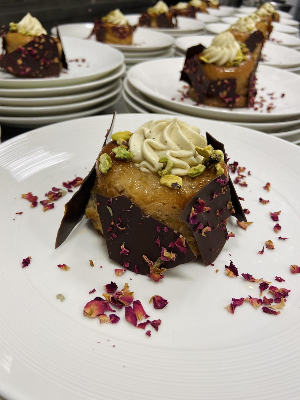 Dessert de L'Îlot Repère Gourmand