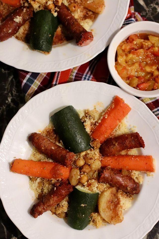 Repas offert par Couscous Express dans la boite à surprises