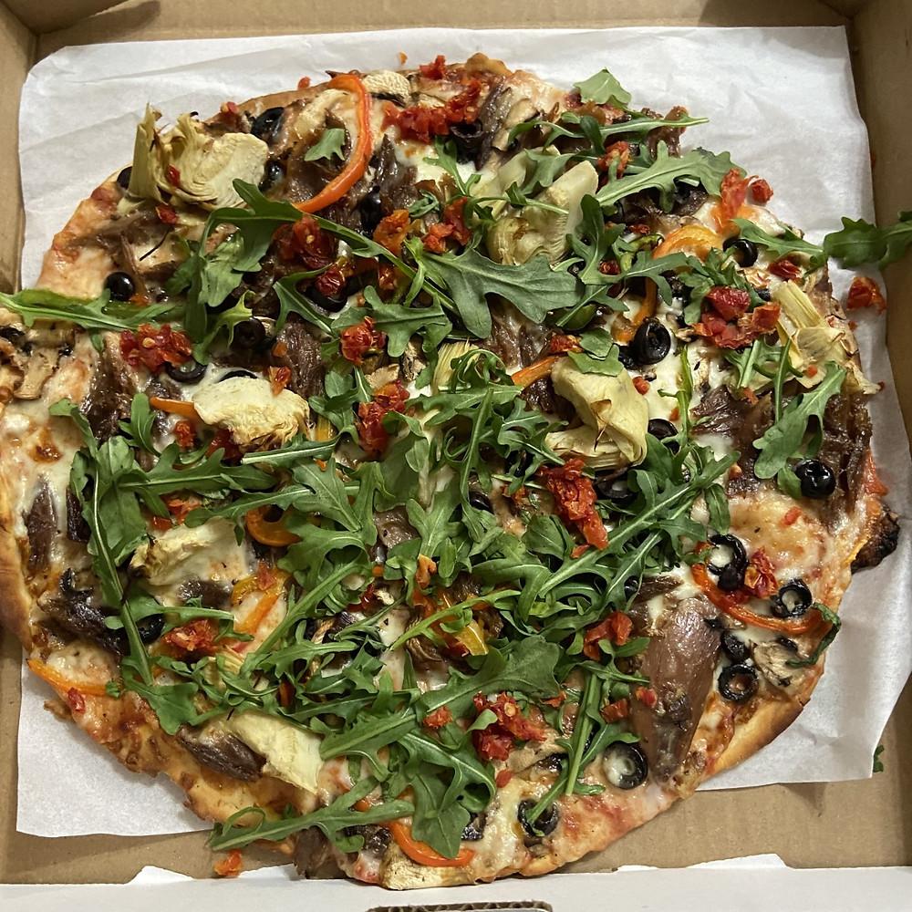 Pizza de chez La Scarpetta