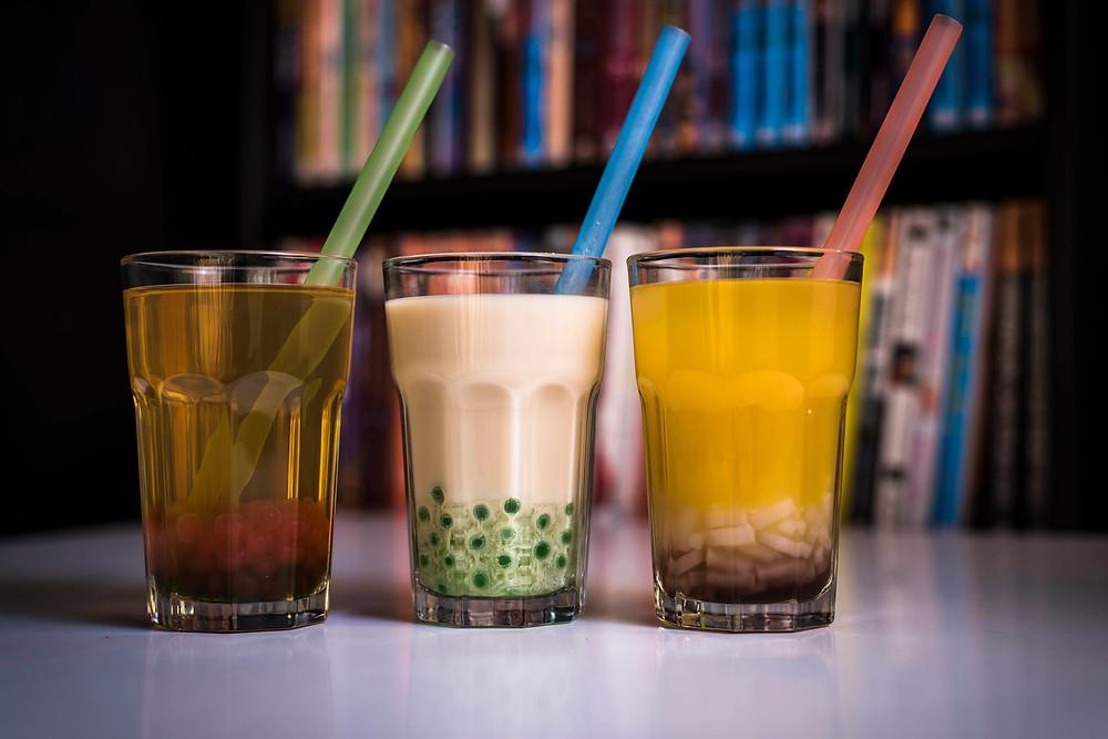 Bubble tea O-Taku Manga Lounge