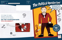 The Political Operation Game