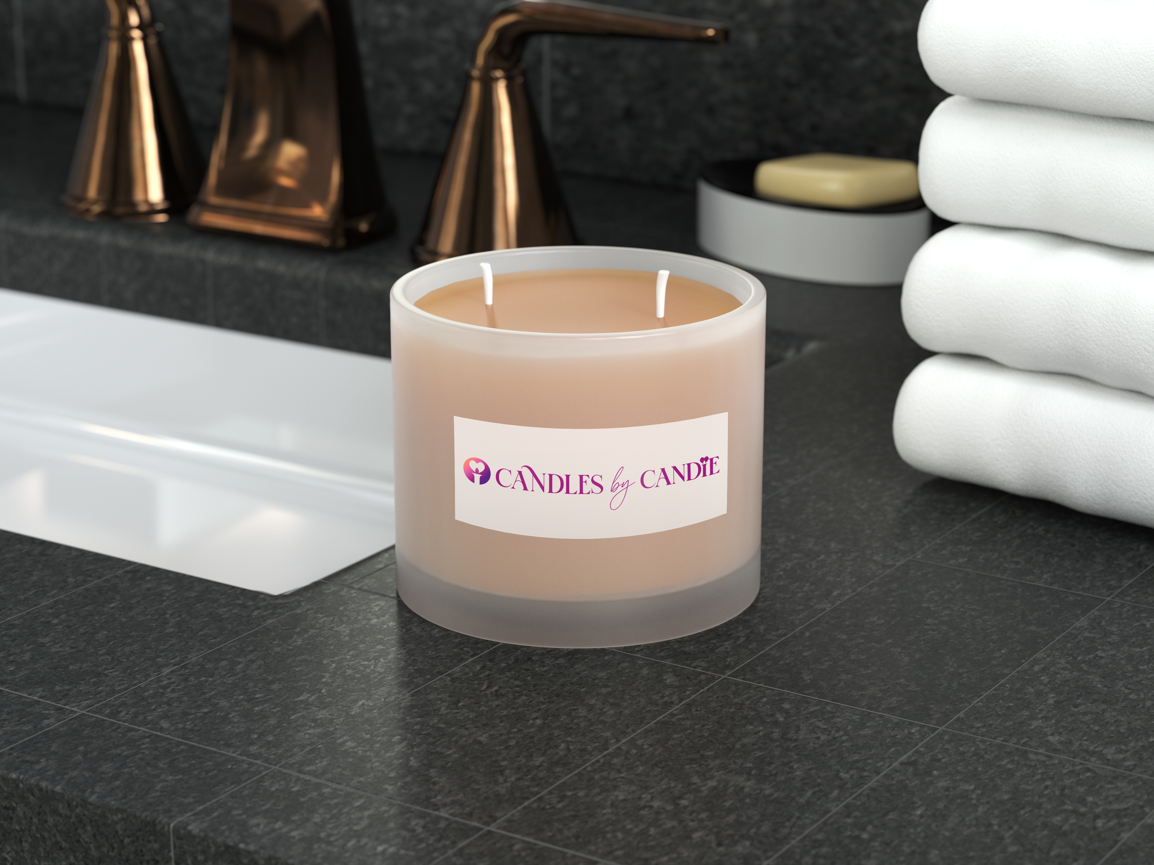 Candles by Candie Candle  Mockup