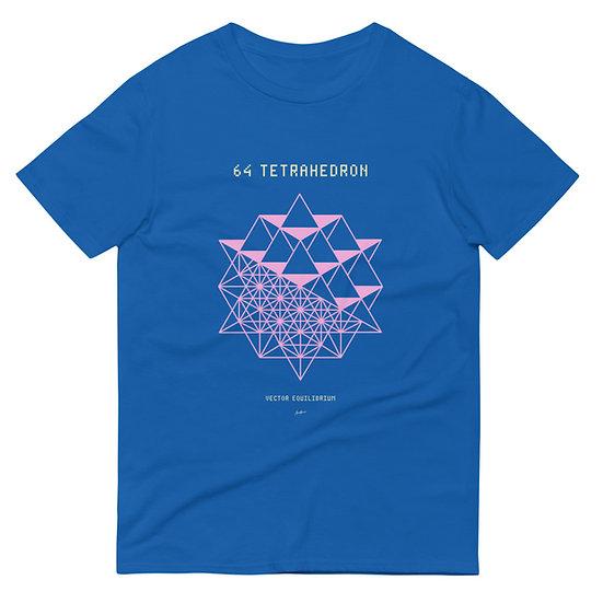 64 Tetrahedron Vector Equillibrium T-Shirt