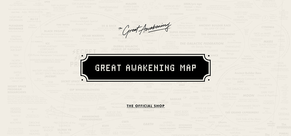 The Official Shop of the Great Awakening Map