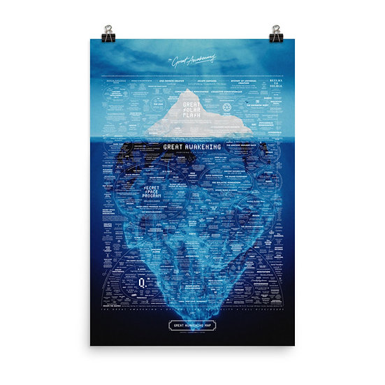 Great Awakening Map Iceberg Edition