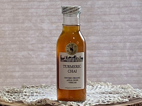 TURMERIC CHAI INFUSED VINEGAR