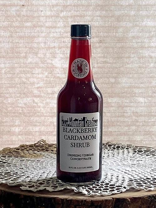 BLACKBERRY CARDAMOM SHRUB with MONKFRUIT