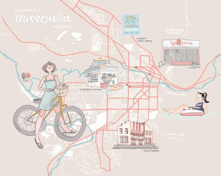 Missoula, MT City Map