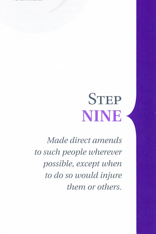Step 9 Pamphlet
