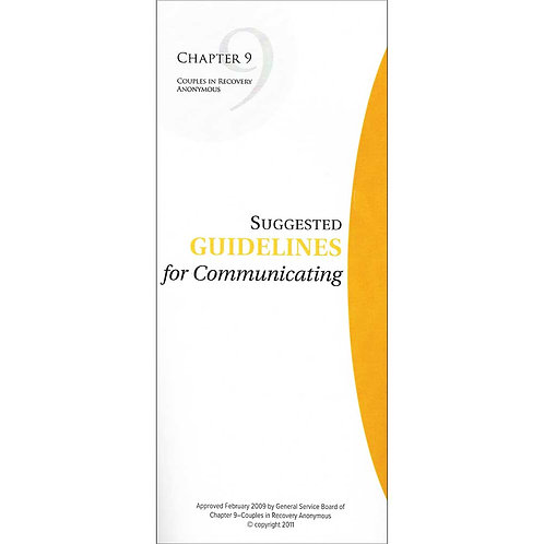 Suggested Guidelines for Communicating