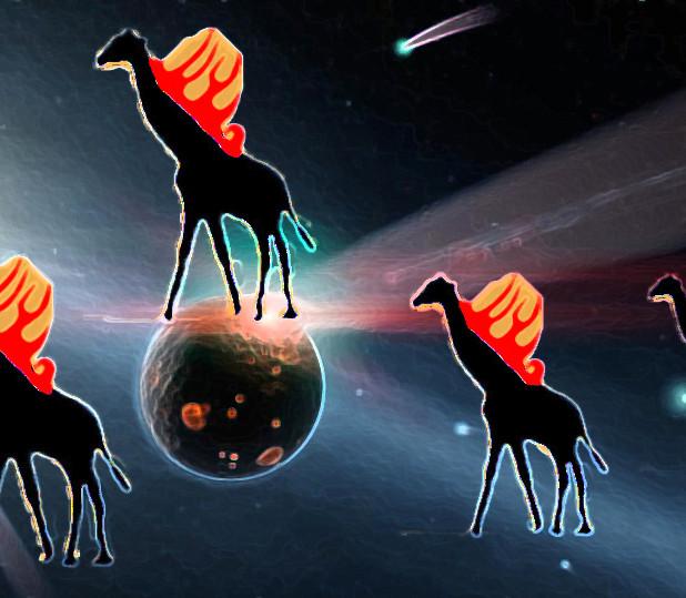 彗星と不吉なキリン(コメット・イブニング)