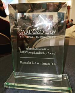 Cardozo Young Alumni Award 2019