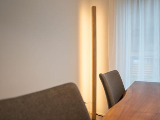Columna, der Stehlampen-Neuling von kln.swiss