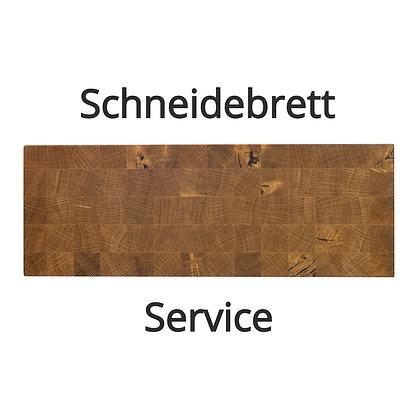 Service für Stirnholz Schneidebretter