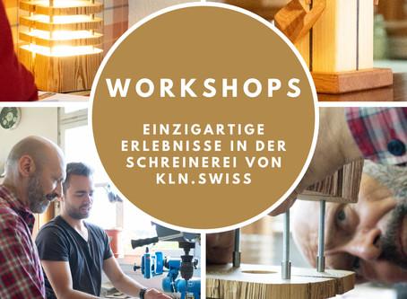 Workshops von kln.swiss