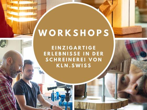 Workshops Bern, Ihre Erlebnis Schreinerei