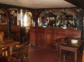 Interior of the Crown Pub Bedfield