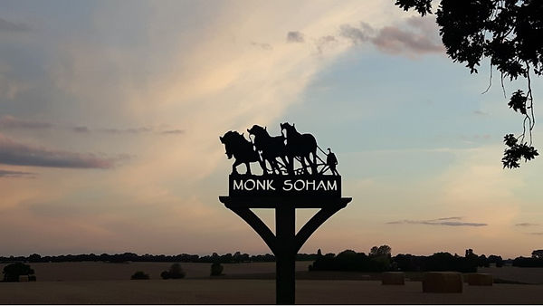 Monk Soham Parish Sign