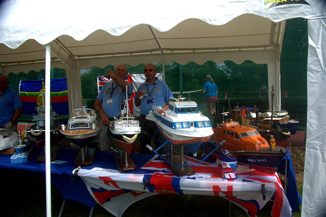 Boat Club Display at Bedfield Fete