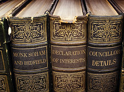 Declaration of Interests Monk Soham Bedfield old books
