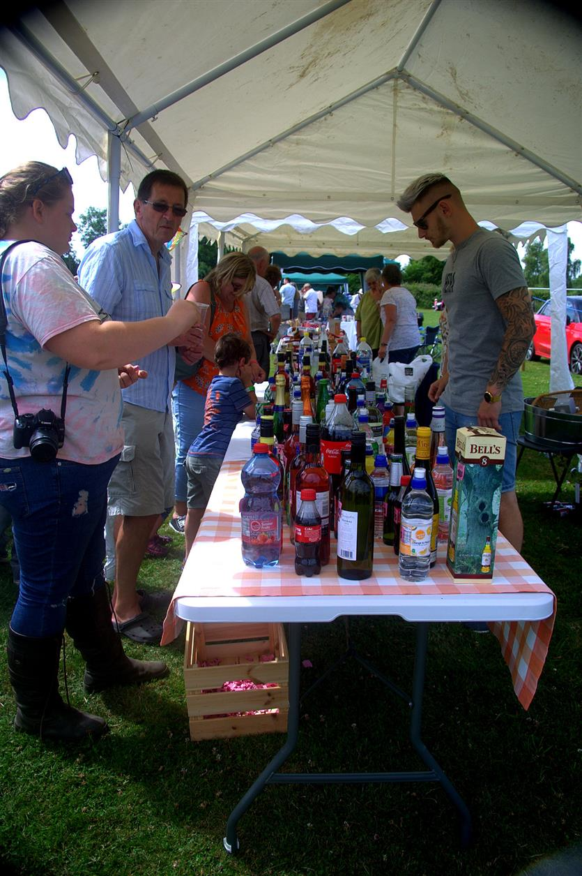 Alcohol! Bedfield Fete