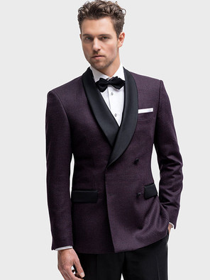Dinner Jacket with silk shawl collar and pockets