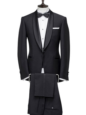 Dinner Suit with shawl collar