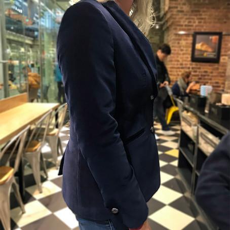 Holland & Sherry Velvet Jacket