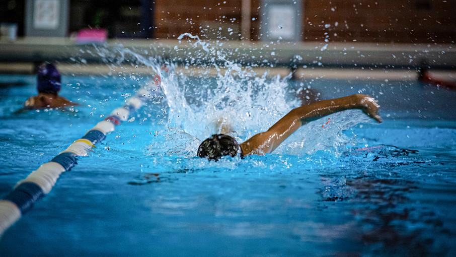 Crawl Schwimmen