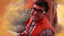 Makunda smiling playing tabla edited