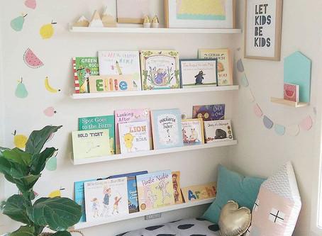 Kako urediti kutak za čitanje bebi: Pronašli smo 10 inspirativnih primjera