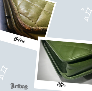 Raw Leather Corners
