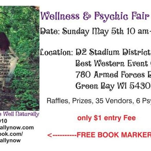 Be Well Naturally Now Wellness & Psychic Fair