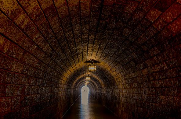 Tunnel Under The Eagle's Nest in Berchtesgaden