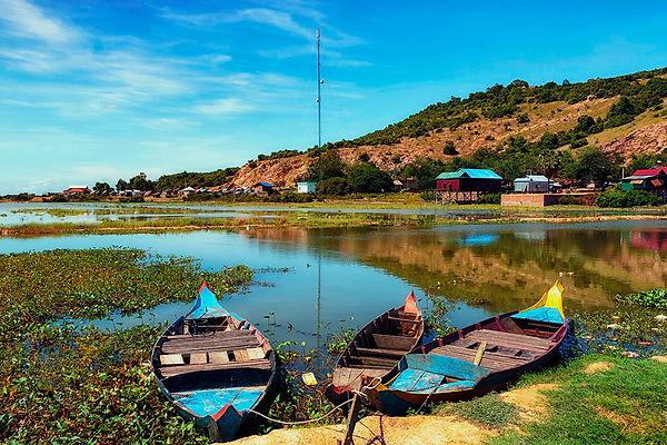 019 Tonle Sap Fishing Boats__ Moored.jpg