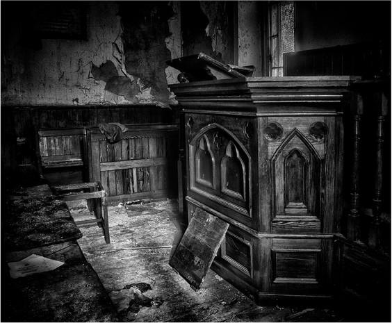 Abergwesyn Derelict Chapel