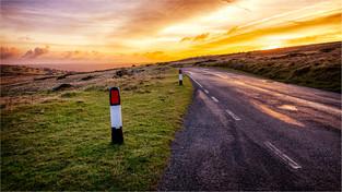 Road Into The Sunrise