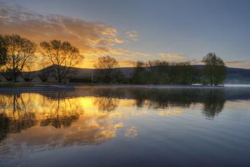 Sunrise At Llangorse Lake