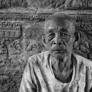 Old Lady of Ankgor Wat