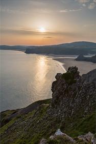 Three Cliffs Evening