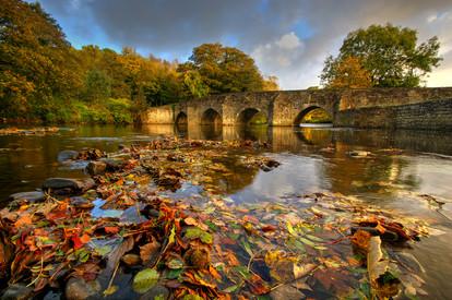 Dipping Bridge At Merthyr Mawr