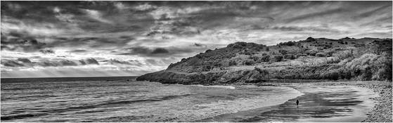 Langland Bay B&W 24_AuroraHDR2018-Edit-E