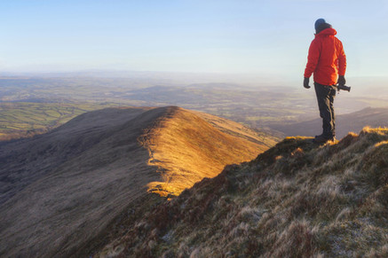 Brecon Beacons At First Light