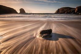 Stone at Dalbeg Beach